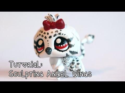 Tutorial: Sculpting angel wings for LPS customs