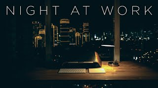 Night at Work | Instrumental Chill Music Mix