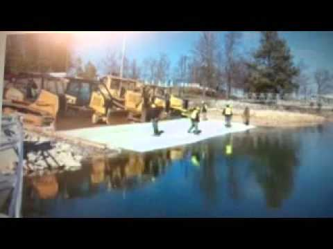 How to Install a boat ramp