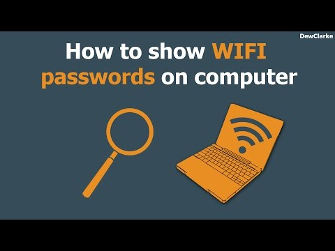 How to view Forgotten WiFi Password
