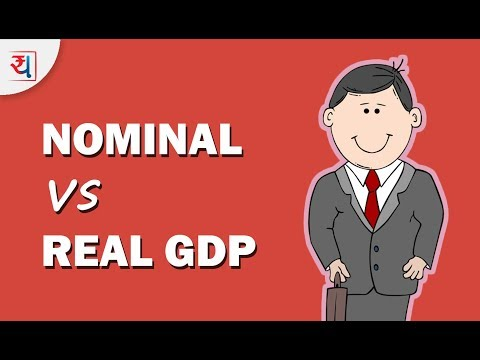 Nominal GDP vs Real GDP | Comparison of Real GDP & Nominal GDP India | GDP Explained