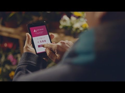 A card that reloads anywhere, anytime | The Axis Bank Forex Card