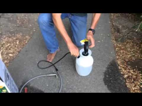 How To Make A Weed Sprayer Camping Shower