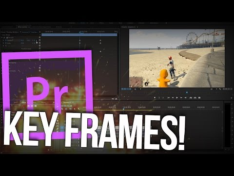 How to Use Key Frames in Adobe Premiere Pro! | [For Beginners!]