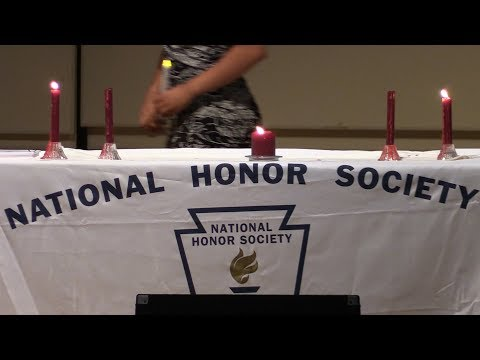 PHS National Honor Society inducts 44 new members