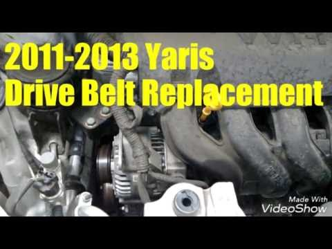 2011-2013 Yaris Belt Replacement