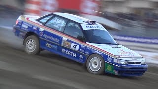 Subaru Legacy RS Rally Group A in Action! - RAW Boxer Rumble Sound!