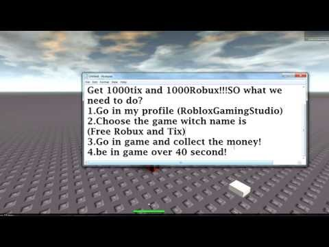 How to get free Robux and Tix! (No downloads) (No survey) Working 2014-2015