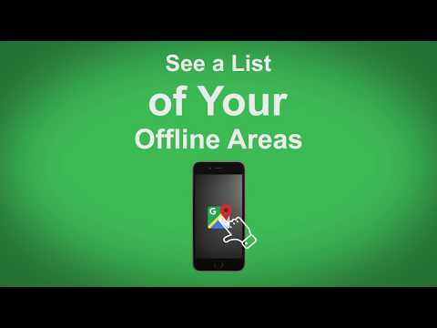 Google Maps   See A List Of Your Offline Areas