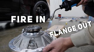 Blowtorching The Rear Diff With Purpose (not Black Widows) Awd 4 Rotor