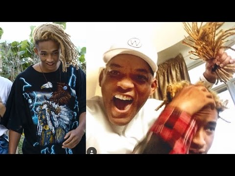 WILL CUTS OFF JADEN SMITHS HIGHTOP DREADS | + JOURNEY