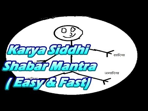 Proven Karya Siddhi Shabar Mantra - Remove Obstacles From Your Life (Easy & Fast)