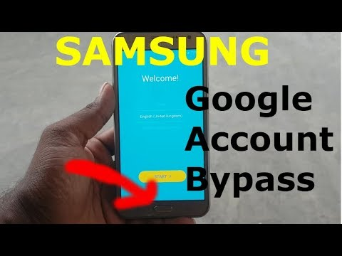 New Way To Bypass Google Account Verification SAMSUNG J7 (New)