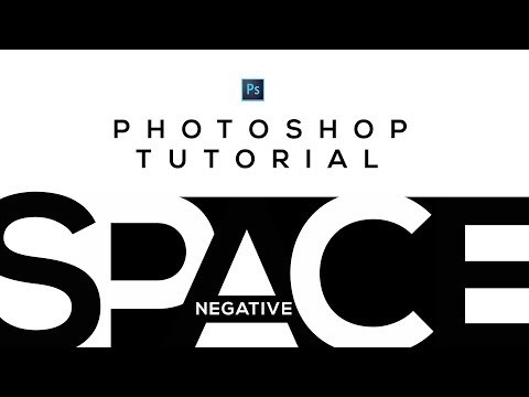 How to make Negative Space in Photoshop for beginners