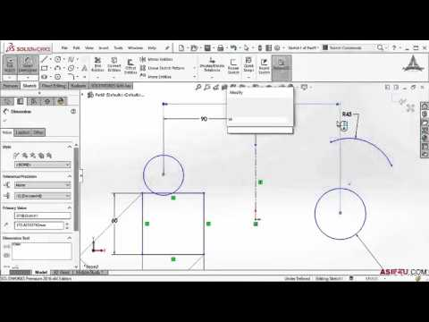 005 Power of smart dimension tool in solidworks