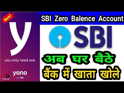 SBI Yono Open Savings Bank Account In Zero Balence Without Going To Branch