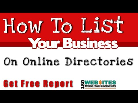 Online Directory Assistance - How To List Your Business On Online Directories