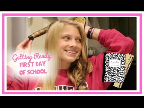 Getting Ready: First Day of School! (Junior Year)