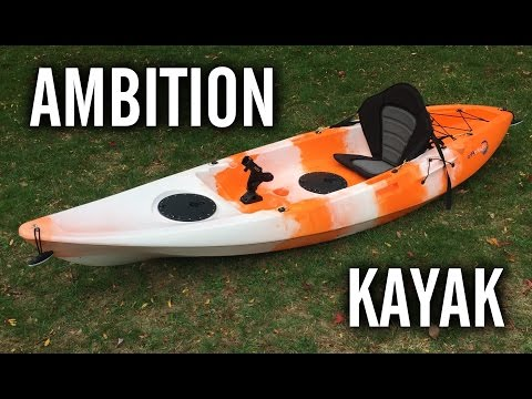 Pioneer / HydroPro Ambition Kayak Review