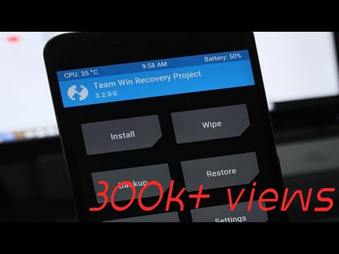 how to install TWRP recovery without using pc..