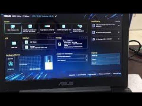 Tutorial | Cara Instal Windows pada Laptop Asus X441N