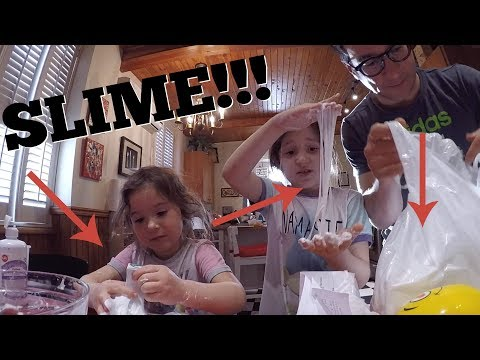 TOO MUCH SLIME ON OUR HANDS!!!