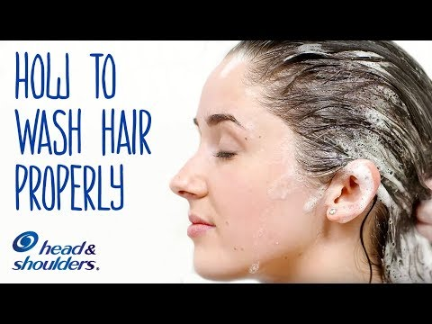 How To Wash Your Hair Properly | Healthy Hair Tips
