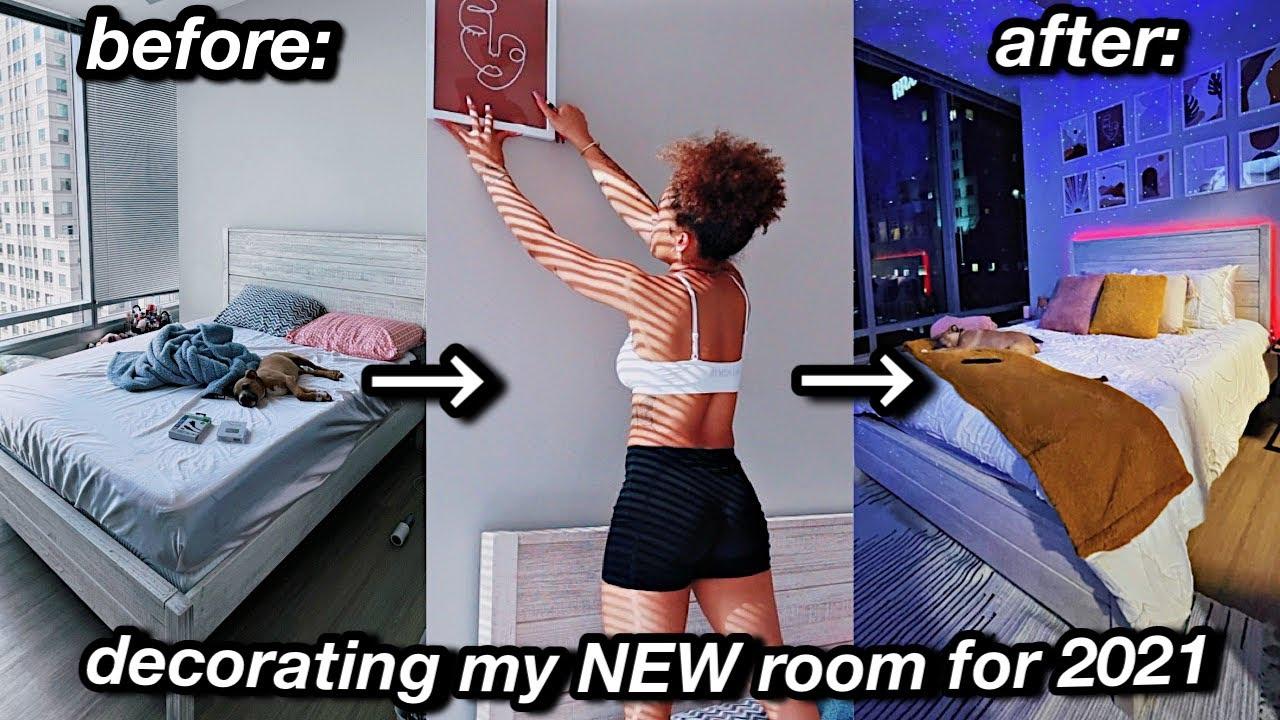 my 24 hour INTENSE room transformation! | Azlia Williams