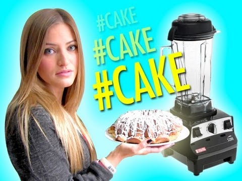 How to Make Pound Cake in a Blender   iJustine