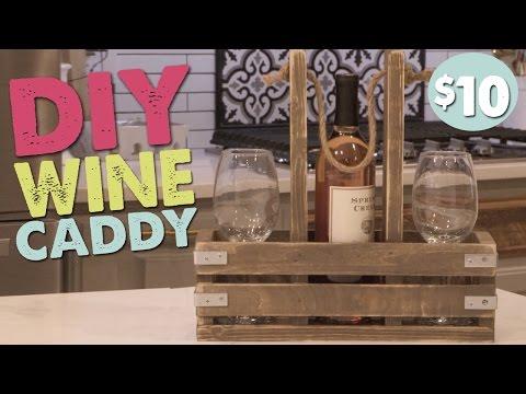 DIY Wine Caddy   Shanty2Chic