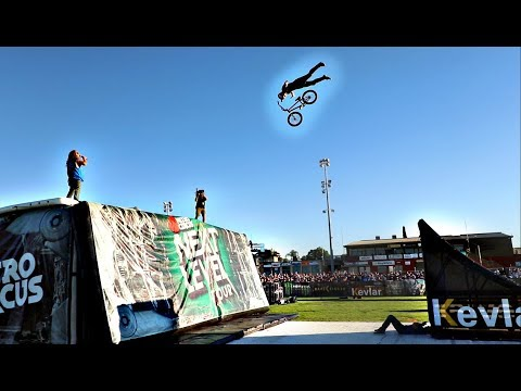 CRAZY WORLD FIRST TRICK AT NITRO CIRCUS!