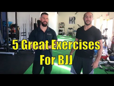 5 Great Exercises For BJJ by Malcom Gwilliam