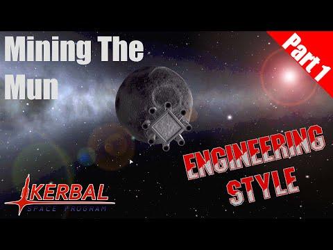 Kerbal Space Program - Mining the Mun Part 1