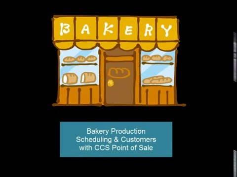 Bakery Point of Sale - Production Customers & Scheduling Software | Cupcakes | Baker | Chef