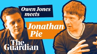 Owen Jones meets Jonathan Pie |