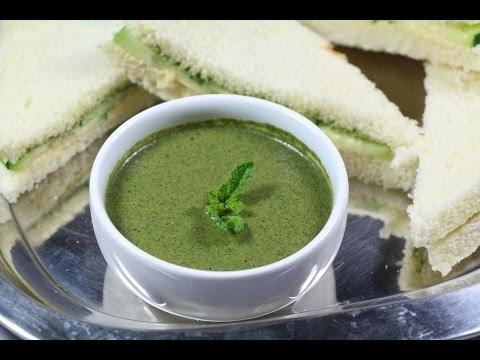 Mint Chutney ( for sandwiches) ~ Chutney Recipes