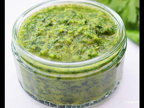 Green Chilli Sauce Recipe