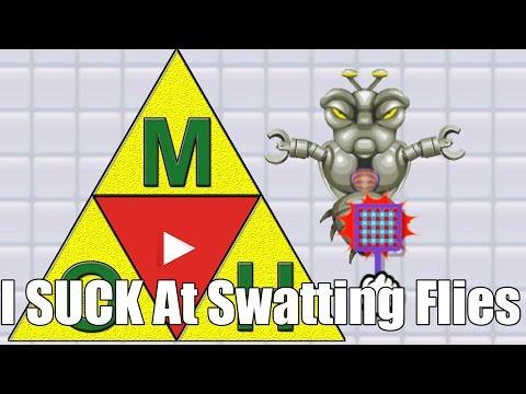 Master0fHyrule Sucks At Swatting Flies in Super Mario Maker