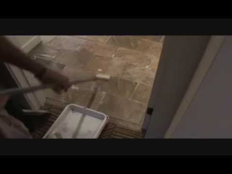How to seal a tile floor