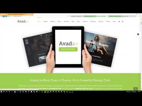Simple Wordpress Blog - Avada Theme