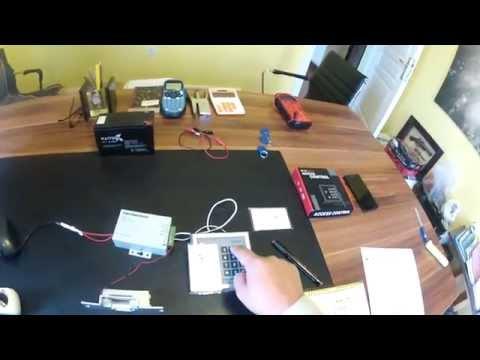 K2000-M DOOR LOCK, RFID ACCESS CONTROL ,Enrolling Cards...