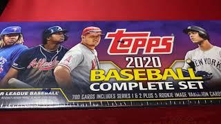 Purple 2020 Topps Complete Set CHROME Robert, Bichette, Lux, Alvarez, or Aquino