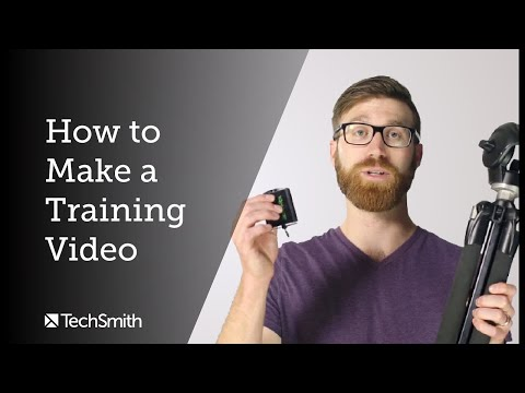 How to Make a Training Video