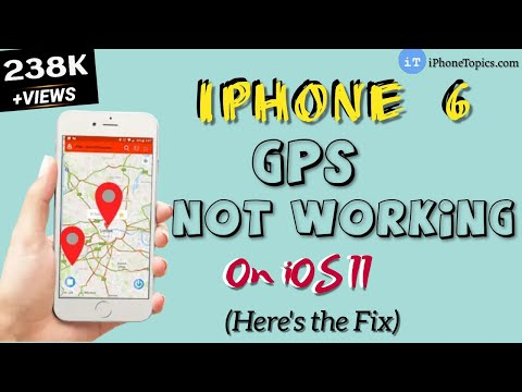 iPhone 6 GPS not working iOS 11? Here's the fix