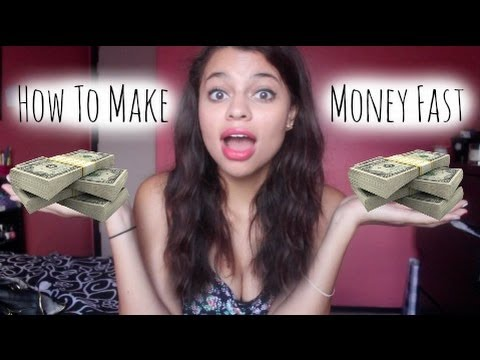 How to Make Money FAST Online! THE REAL WAY!