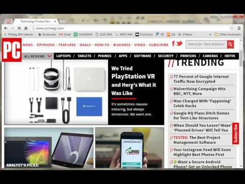 Chrome Tips: How to Zoom in and Out