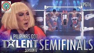 Pilipinas Got Talent 2018 Semifinals: Bardilleranz - Pull Up Bars