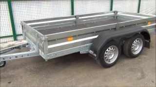 Прицеп двухосный грузовой для легковых автомобилей AvtoS AF31NB