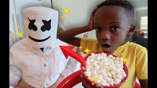 Magic Marshmallow Turned Super  Mom To Marshmallow