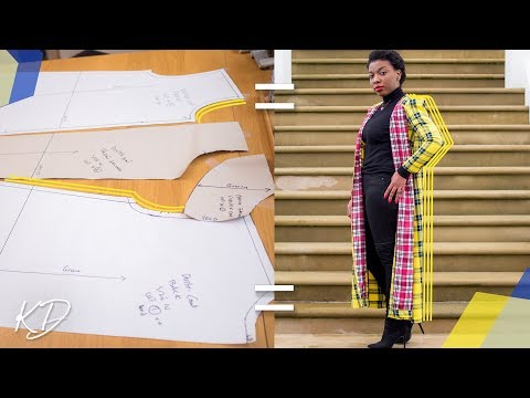 HOW TO: MAKE A DUSTER COAT PT 2 | PATTERN TUTORIAL